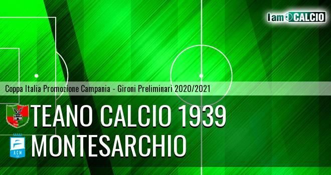 Teano Calcio 1939 - Montesarchio
