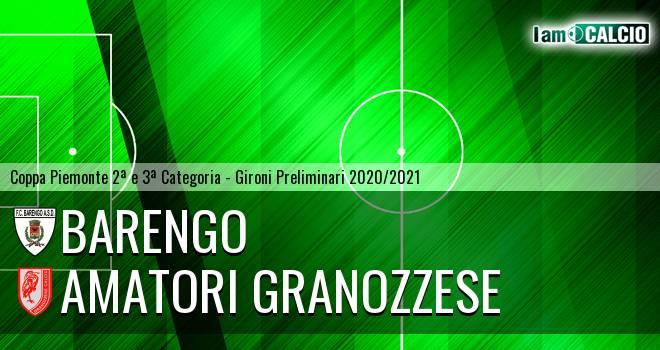 Barengo - Amatori Granozzese