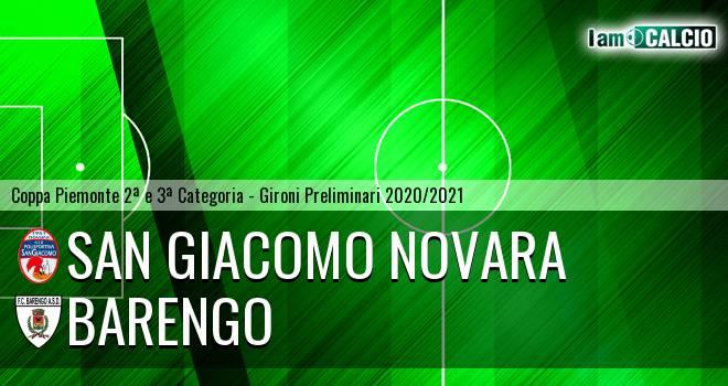 San Giacomo Novara - Barengo