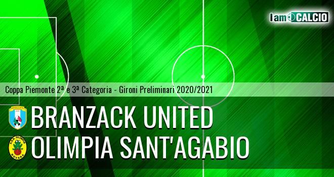 Branzack United - Olimpia Sant'Agabio
