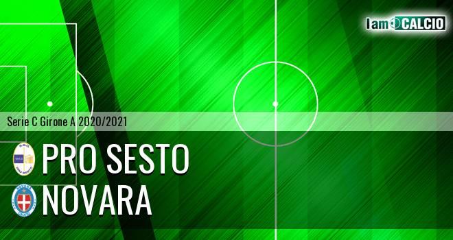 Pro Sesto - Novara 3-0. Cronaca Diretta 01/11/2020