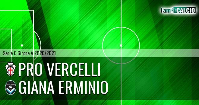 Pro Vercelli - Giana Erminio