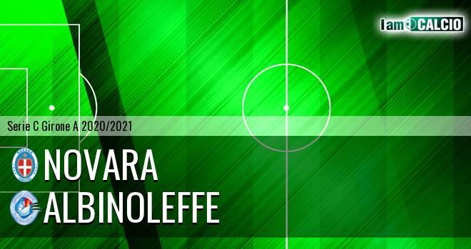 Novara - Albinoleffe - Serie C Girone A 2020 - 2021