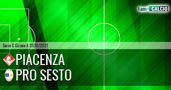 Piacenza - Pro Sesto