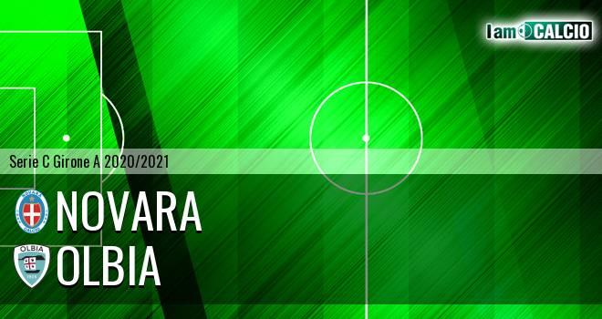 Novara - Olbia - Serie C Girone A 2020 - 2021
