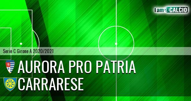 Aurora Pro Patria - Carrarese