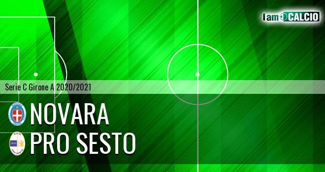 Novara - Pro Sesto - Serie C Girone A 2020 - 2021