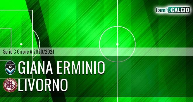 Giana Erminio - Livorno