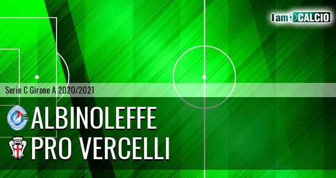 Albinoleffe - Pro Vercelli