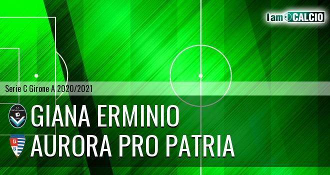 Giana Erminio - Aurora Pro Patria