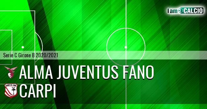 Alma Juventus Fano - Carpi
