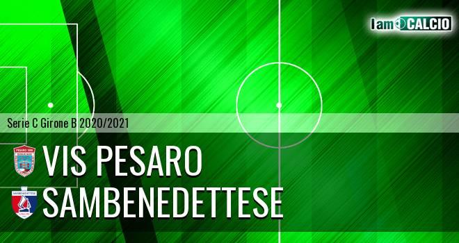 Vis Pesaro - Sambenedettese