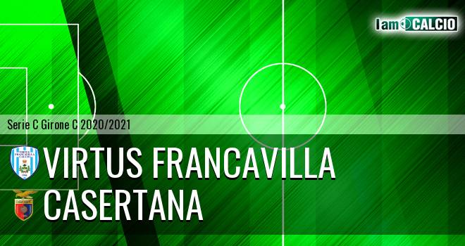 Virtus Francavilla - Casertana 1-3. Cronaca Diretta 08/11/2020