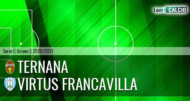 Ternana - Virtus Francavilla 1-0. Cronaca Diretta 11/11/2020