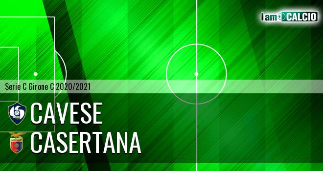 Cavese - Casertana 0-1. Cronaca Diretta 29/11/2020
