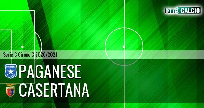 Paganese - Casertana 1-3. Cronaca Diretta 17/01/2021