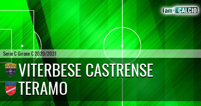 Viterbese Castrense - Teramo 1-0. Cronaca Diretta 17/01/2021
