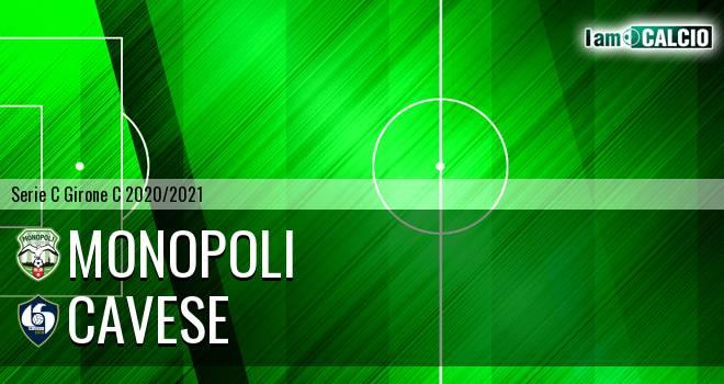 Monopoli - Cavese 1-0. Cronaca Diretta 21/02/2021