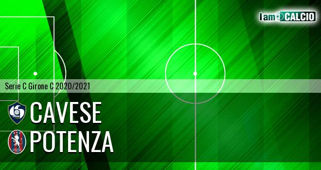 Cavese - Potenza 0-2. Cronaca Diretta 31/03/2021