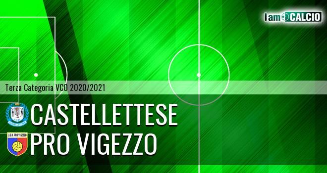 Castellettese - Pro Vigezzo