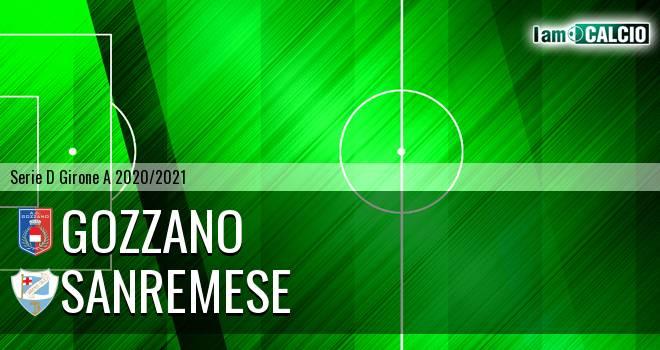 Gozzano - Sanremese 1-2. Cronaca Diretta 11/10/2020