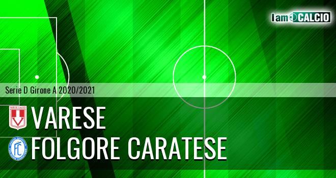 Varese - Folgore Caratese