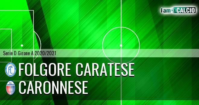 Folgore Caratese - Caronnese