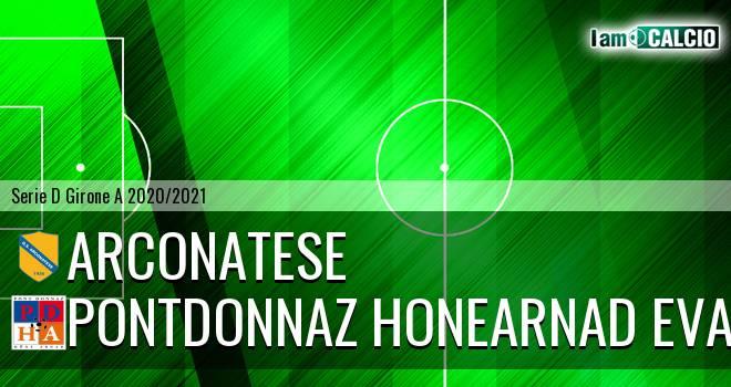 Arconatese - PontDonnaz HoneArnad Evancon