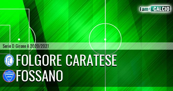 Folgore Caratese - Fossano