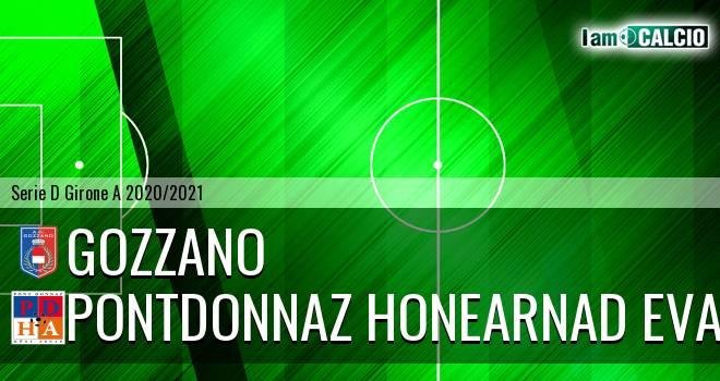 Gozzano - PontDonnaz HoneArnad Evancon - Serie D Girone A 2020 - 2021