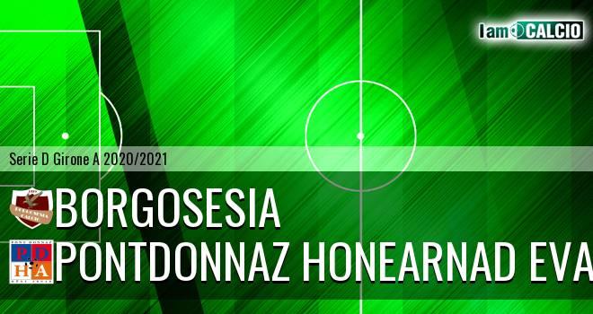 Borgosesia - PontDonnaz HoneArnad Evancon