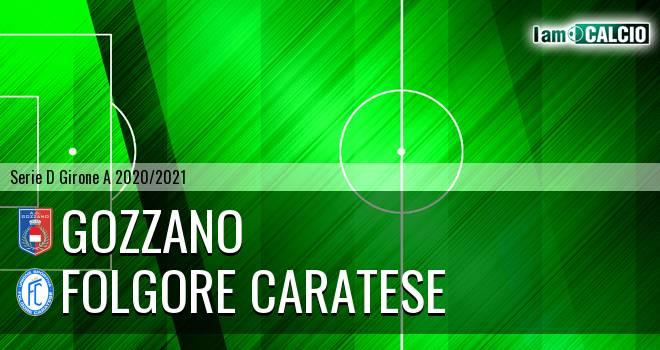 Gozzano - Folgore Caratese - Serie D Girone A 2020 - 2021