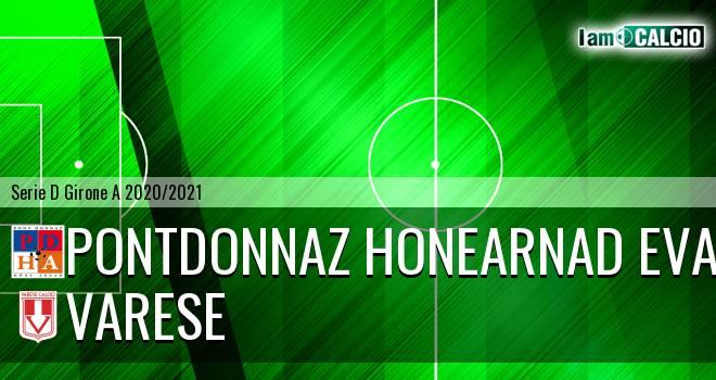 PontDonnaz HoneArnad Evancon - Varese