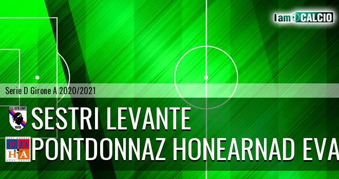 Sestri Levante - PontDonnaz HoneArnad Evancon