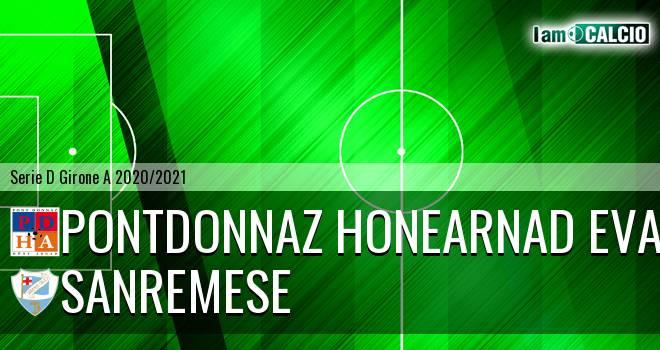 PontDonnaz HoneArnad Evancon - Sanremese