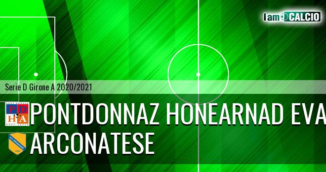 PontDonnaz HoneArnad Evancon - Arconatese