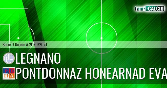 Legnano - PontDonnaz HoneArnad Evancon