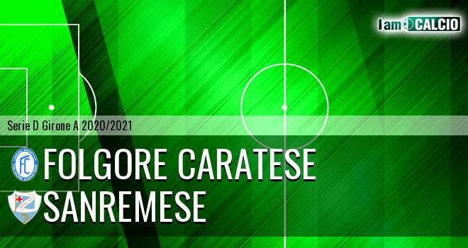 Folgore Caratese - Sanremese