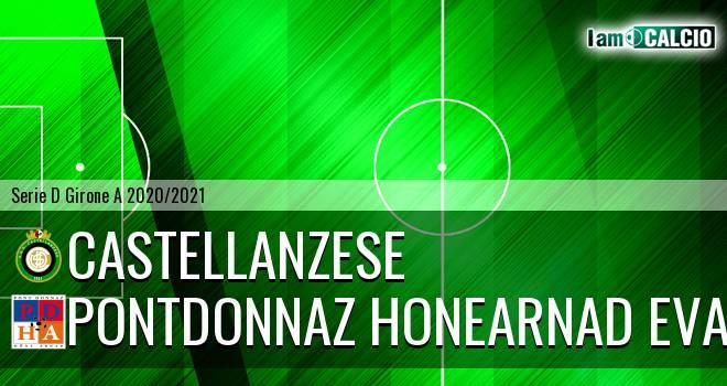 Castellanzese - PontDonnaz HoneArnad Evancon