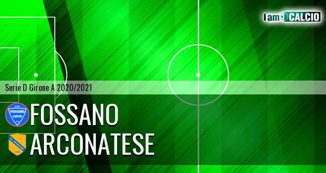 Fossano - Arconatese