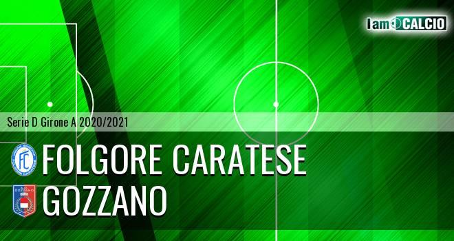 Folgore Caratese - Gozzano