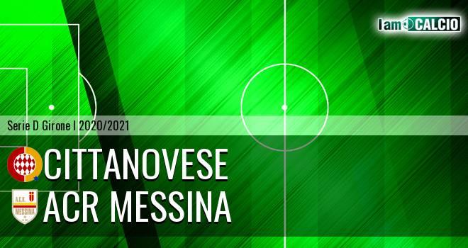 Cittanovese - ACR Messina