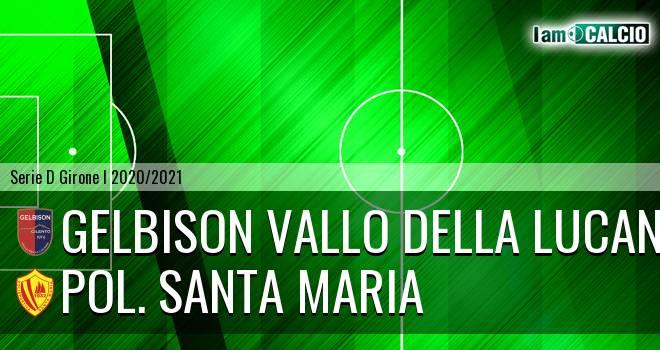 Gelbison Vallo Della Lucania - Pol. Santa Maria