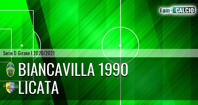 Biancavilla 1990 - Licata