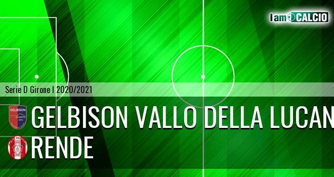 Gelbison Vallo Della Lucania - Rende