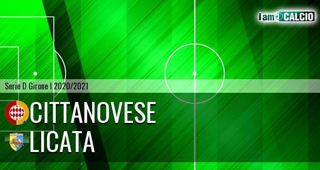 Cittanovese - Licata