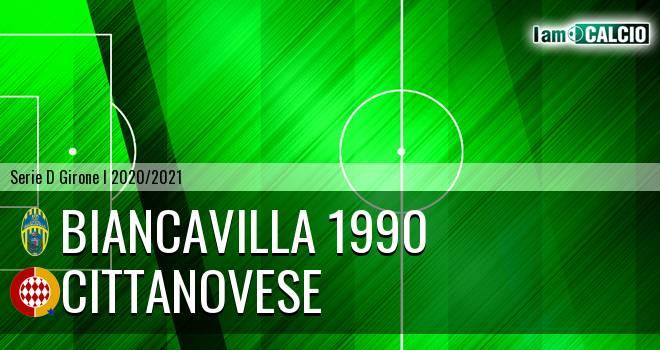 Biancavilla 1990 - Cittanovese