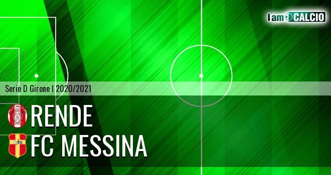 Rende - FC Messina