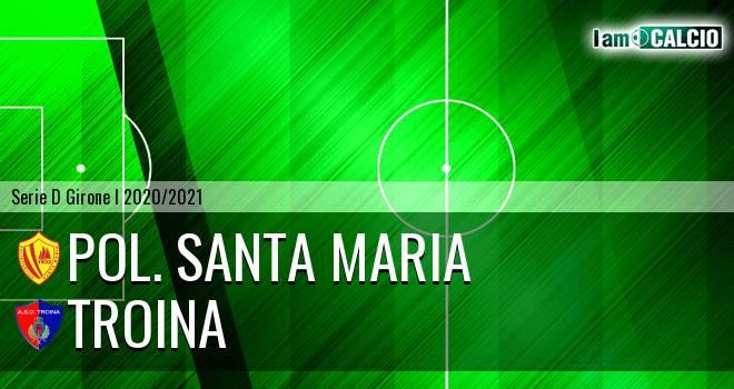 Pol. Santa Maria - Troina