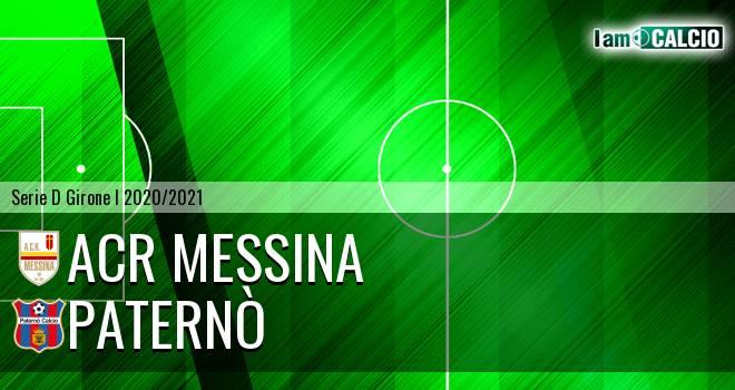 ACR Messina - Paternò